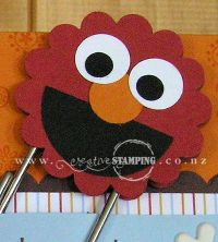 Elmo Punch Art