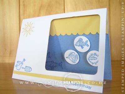 Miss Eight's Just Beachy Card