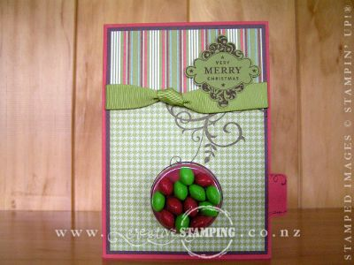 Sweet Treat Christmas Card