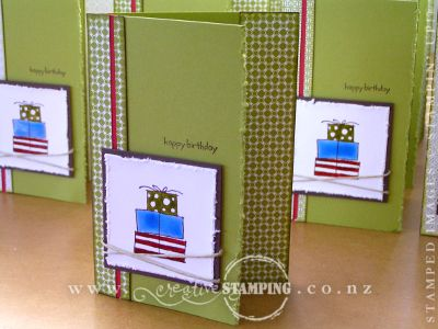 Happy Moments Masculine Card