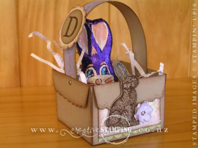 Easter Scallop Envelope Box