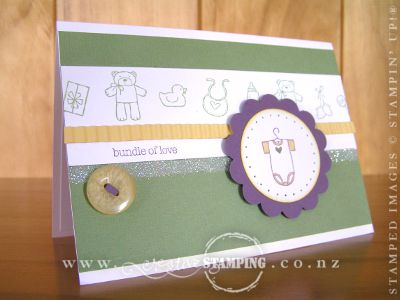 Baby Bundle New Baby Card
