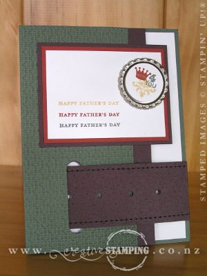 Fathers Day Buckle Card
