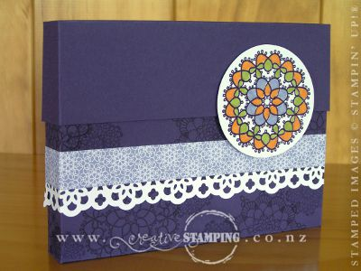 Delicate Doilies Card Box