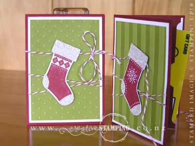Stitched Stockings Voucher Card