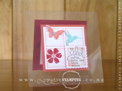 Bloomin' Marvelous Window Sheet Card
