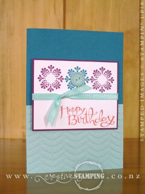 Madison Avenue & Sycamore Street Birthday Popup Card
