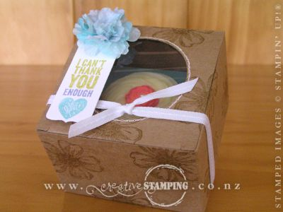Flower Shop Cupcake Gift Box
