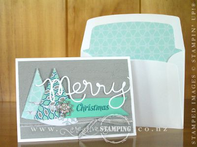 Winter Frost Merry Christmas Note Card