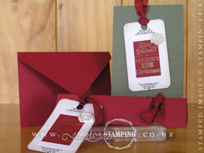 Vintage Christmas Tags Projects