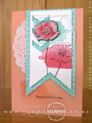 Happy Watercolor Mother's Day Card