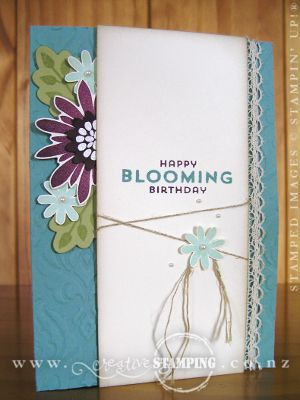 Flower Patch Blooming Birthday
