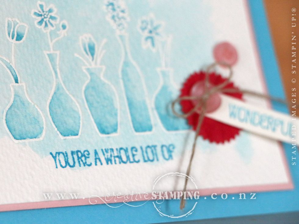 "Vivid Vases ""You're a whole lot of WONDERFUL' card"