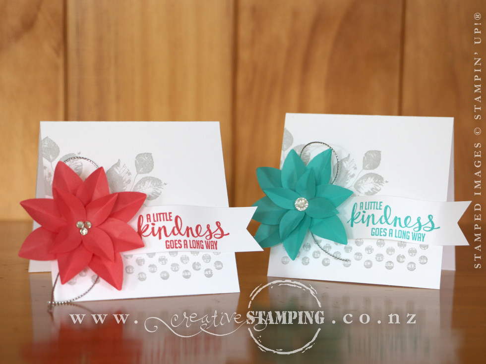 Festive Flower Thank You Cards Kristine Mcnickle