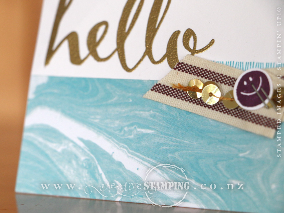 Perfectly Artistic Hello Card