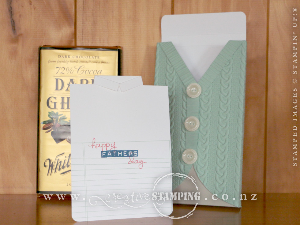 Fathers Day Cable Knit Chocolate Box