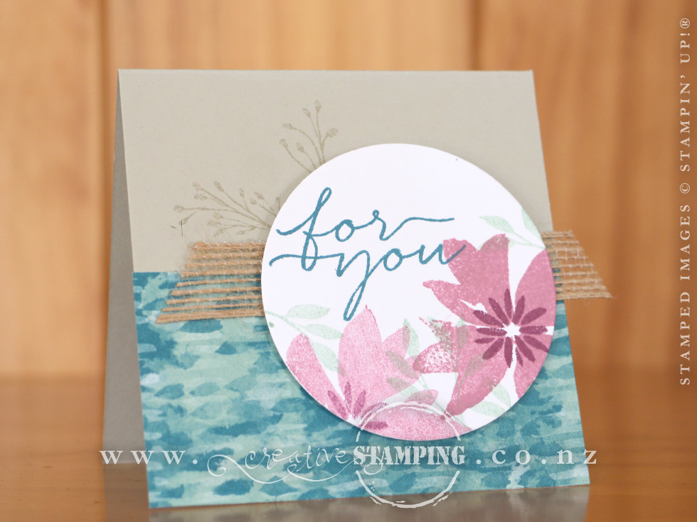 Blooms & Wishes For You Card