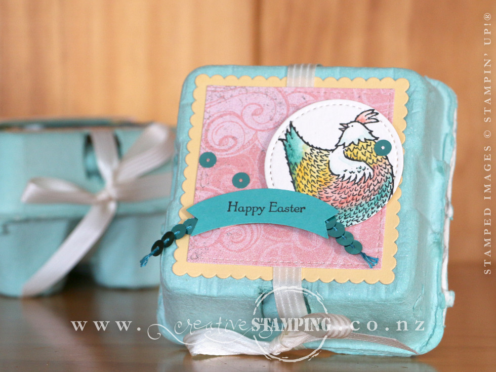 Hey Chick Easter Mini Egg Carton Creative