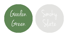 Slytherin House Stampin' Up! Colours | Garden Green & Smoky Slate