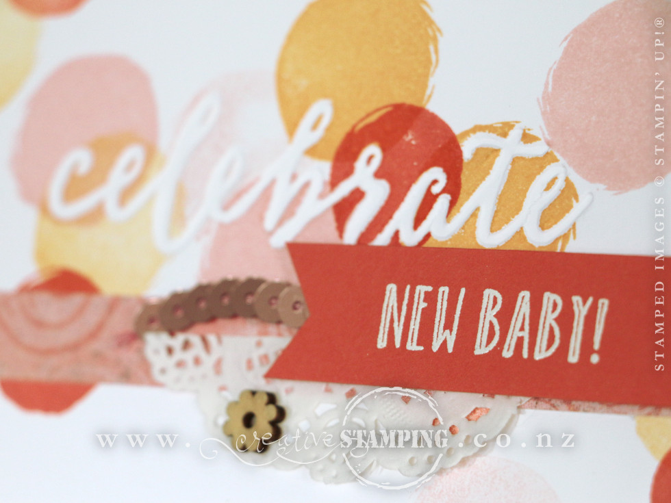 Happy Celebrations Baby Girl Card