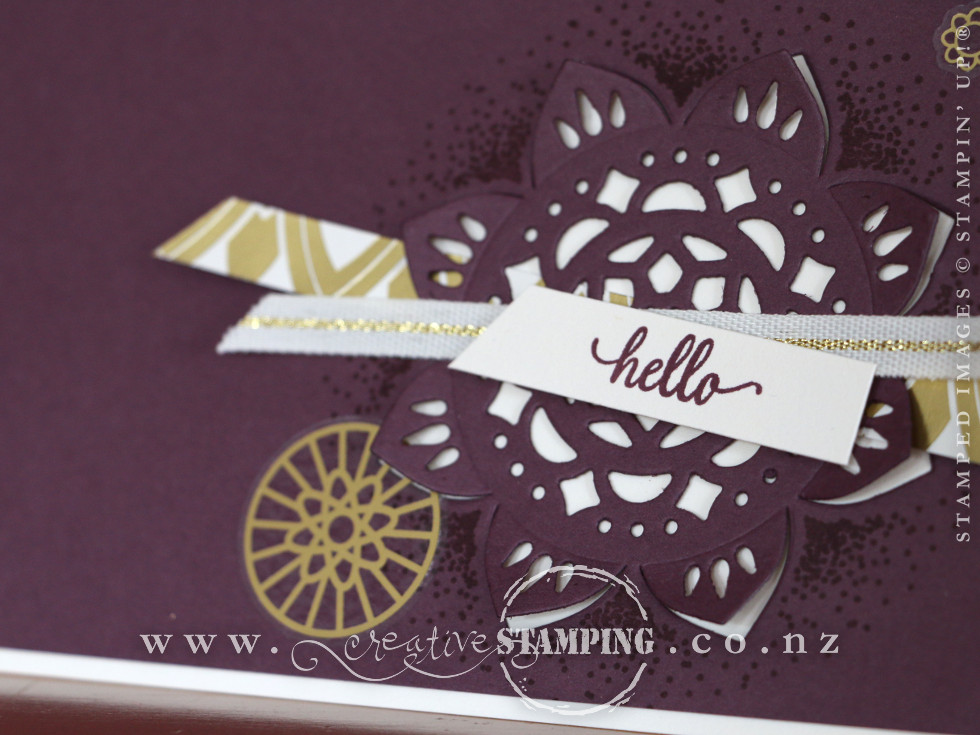 Eastern Beauty Fresh Fig Hello Card