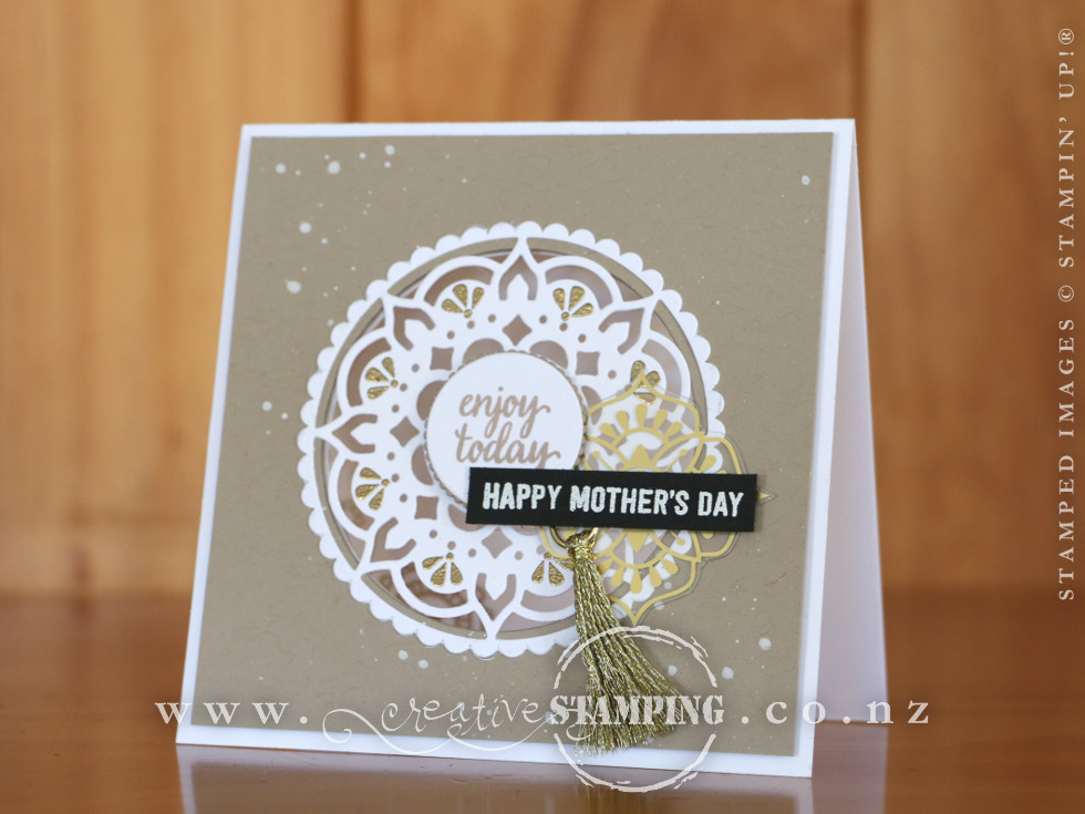 Eastern Beauty Mother's Day Card
