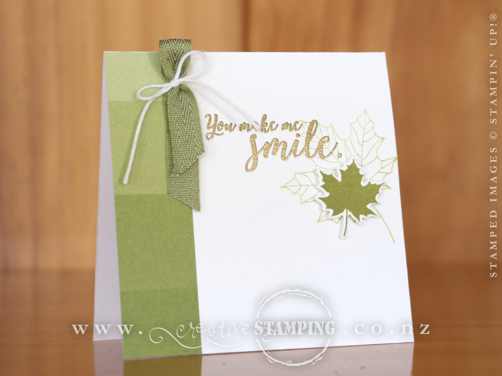 Colorful Seasons Thank You Note Card