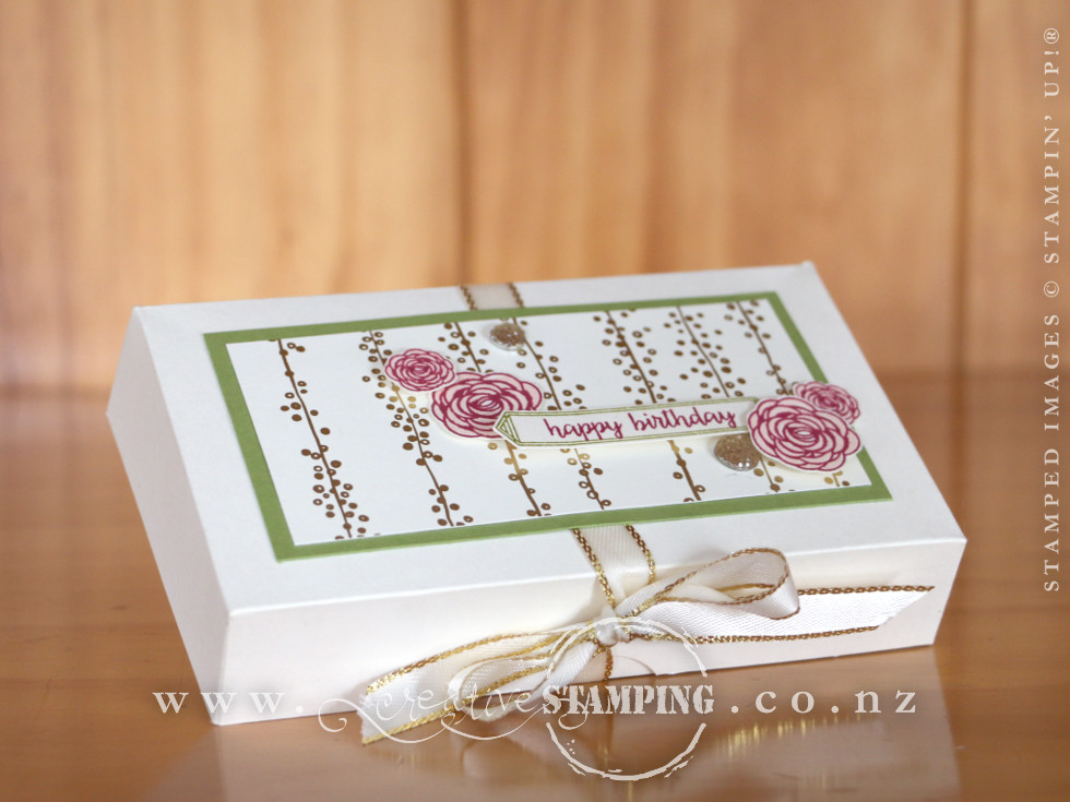 Happy Birthday Gorgeous Pop Up Gift Box