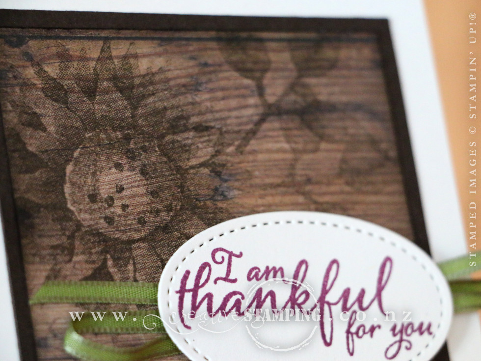 Painted Harvest Thank You Card