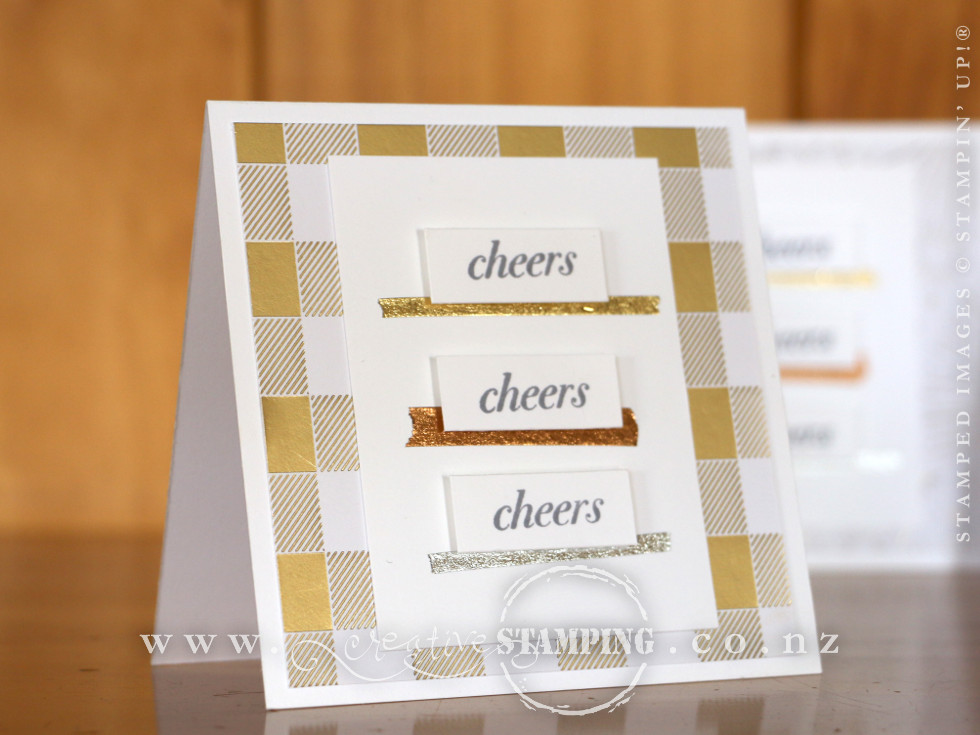 Cheers to the Year Thank You Cards
