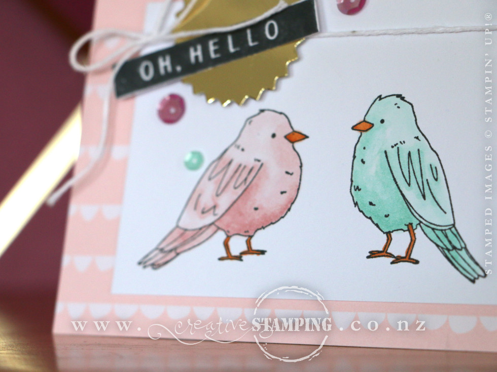 Oh Hello Card | Colour Me Happy Project Kit