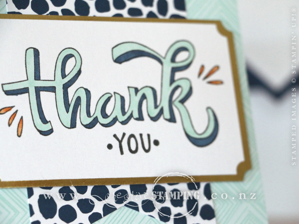 Thank You Card | Colour Me Happy Project Kit