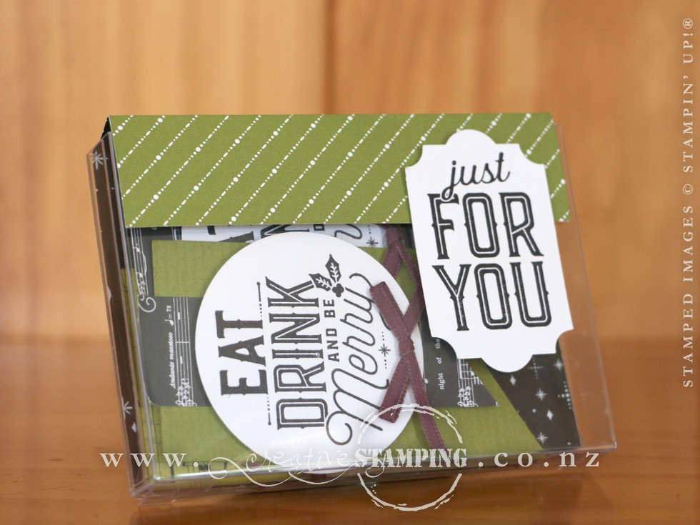 Merry Little Labels Gift Box and Christmas Tags