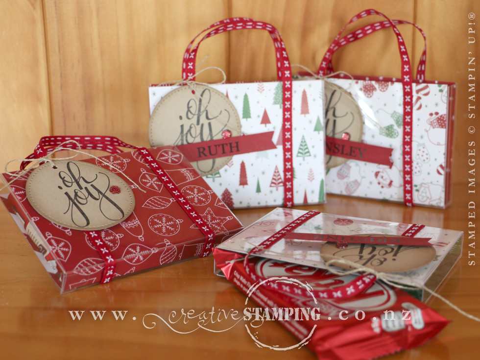 Be Merry Acetate Gift Boxes