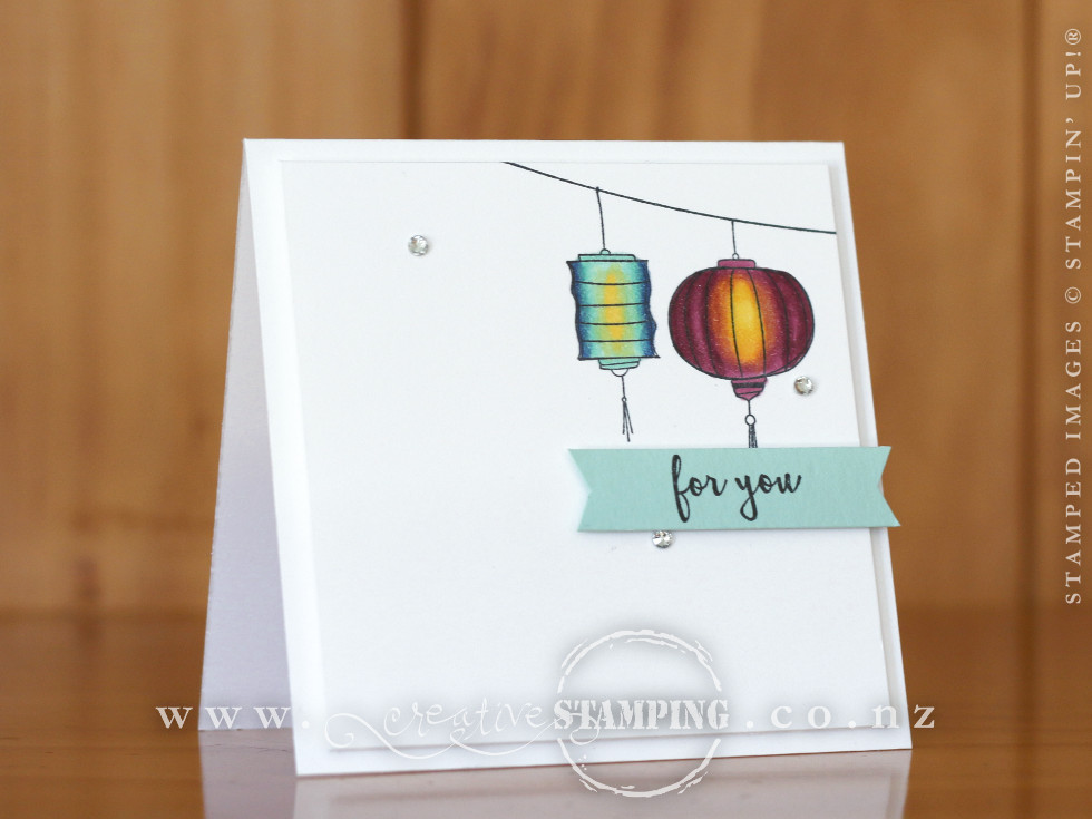 Color Me Happy Lantern Card
