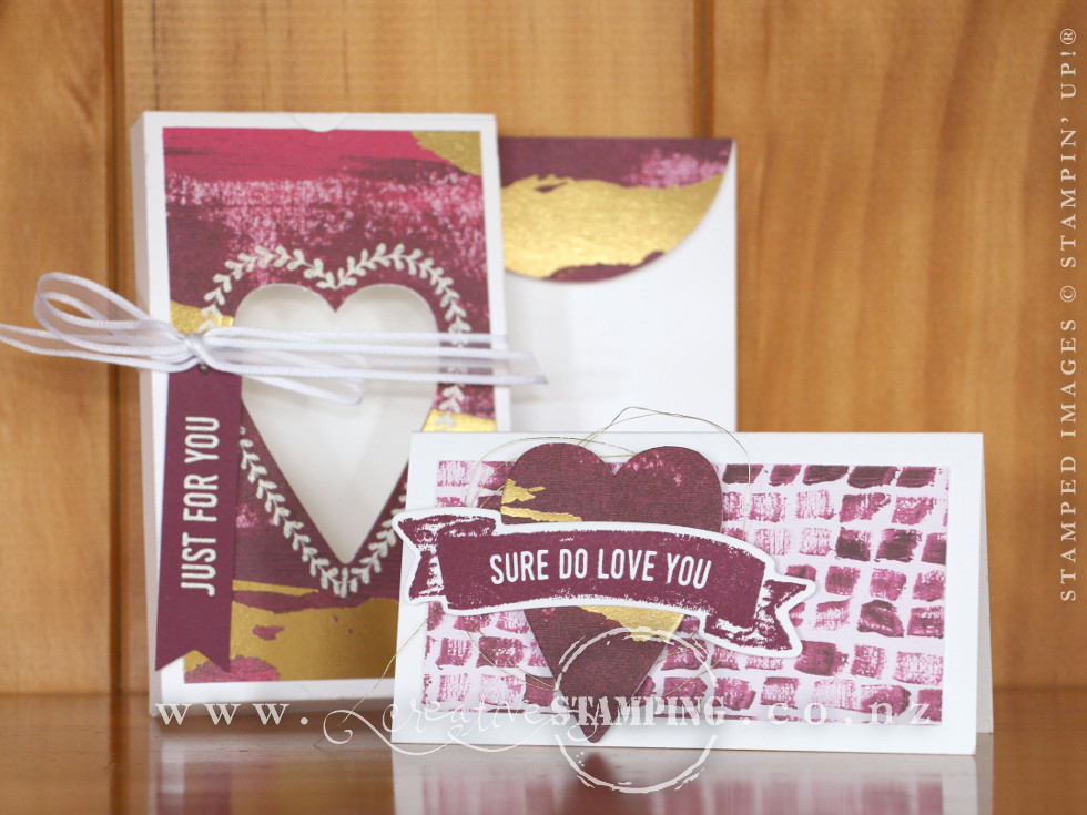 Sure Do Love You Valentine Gift Box and Card