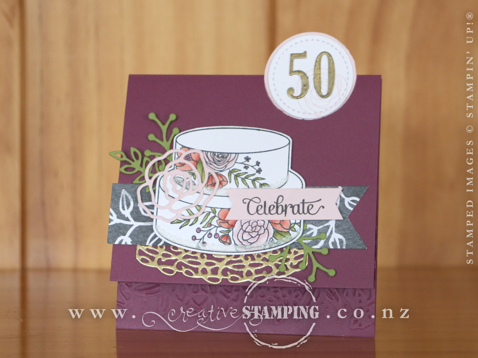 50th Wedding Anniversary or Birthday Card