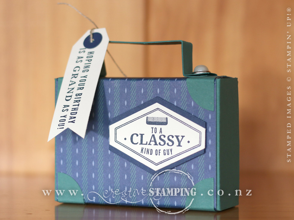Truly Tailored Suitcase Gift Box
