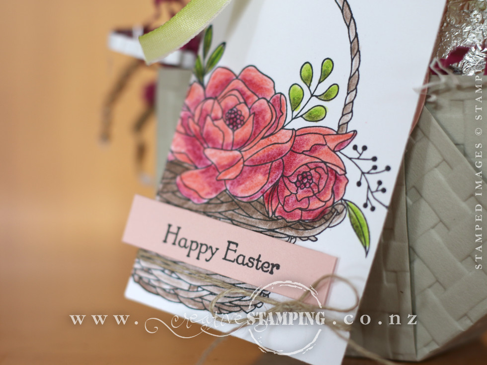 Blossoming Easter Basket