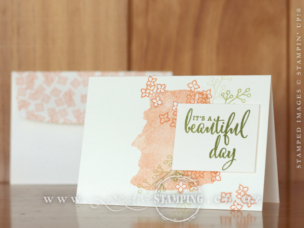 Share What You Love Beautiful Day Card | Just Getting Started Bundle