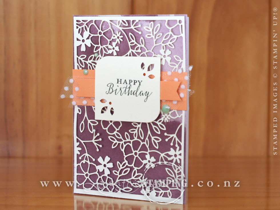 Detailed With Love Birthday Note Card