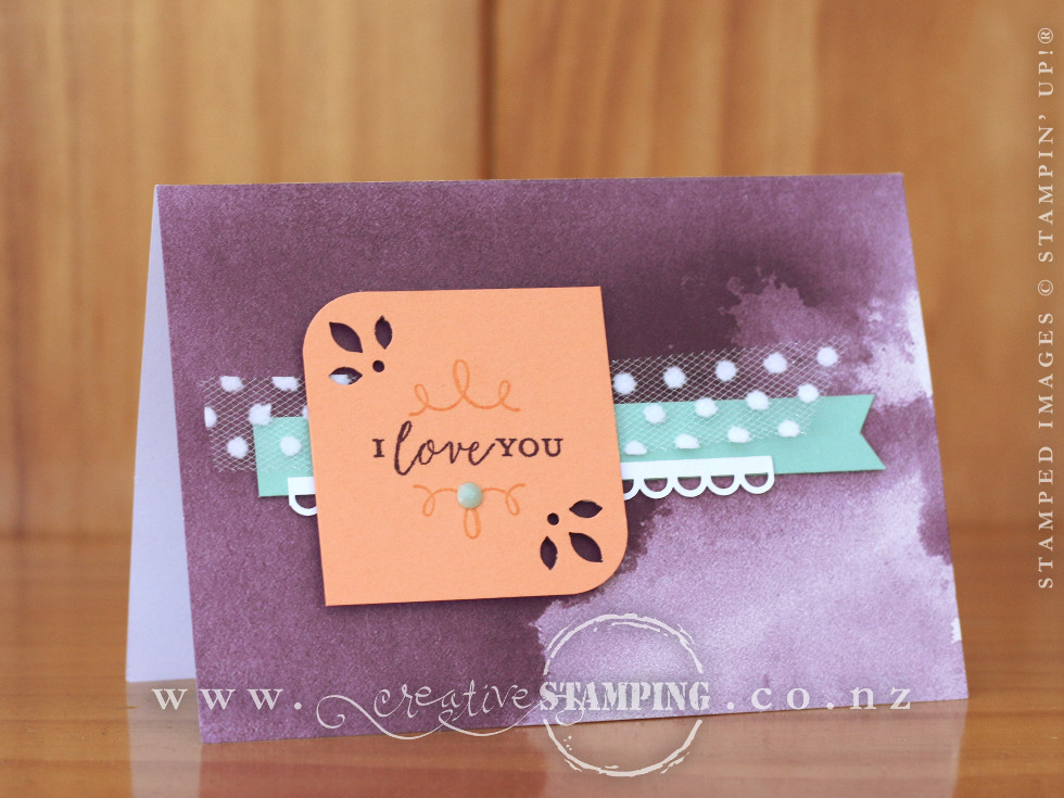 Detailed With Love Note Card