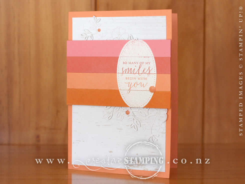 Detailed With Love Smile Friendship Card