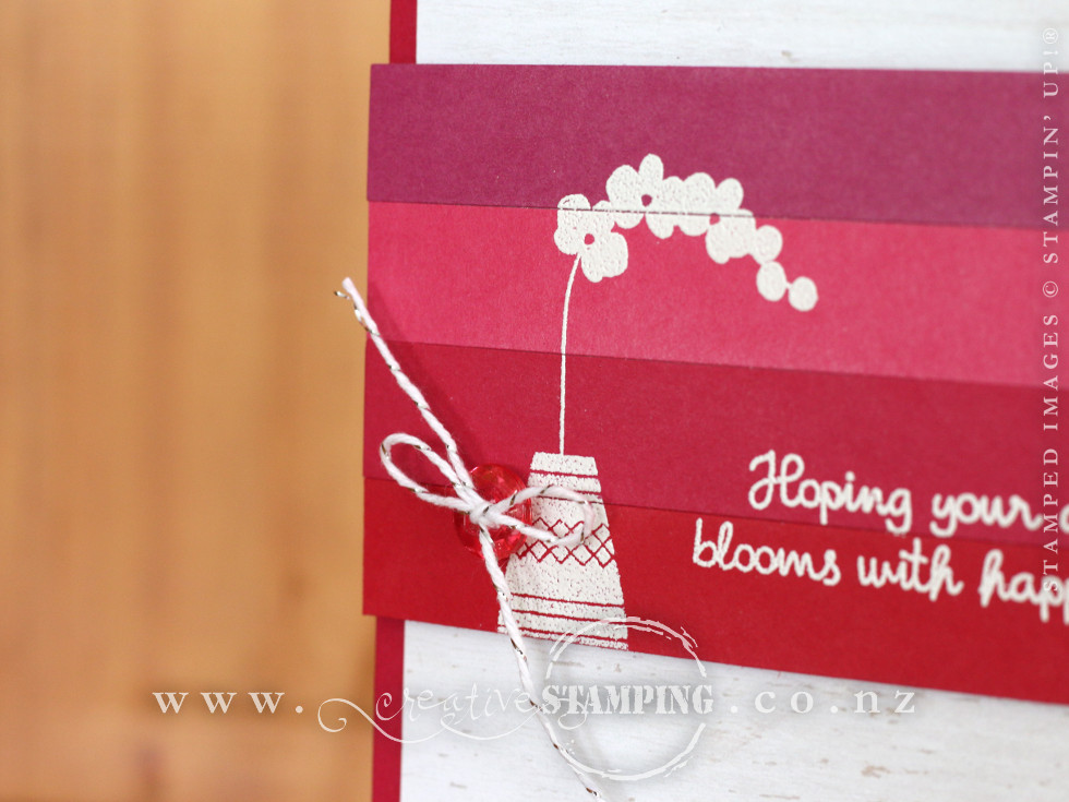 Varied Vases Blooms With Happiness Card