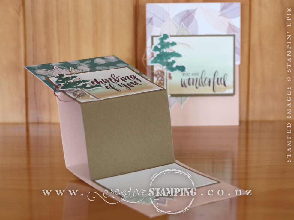 Rooted in Nature Double Z-Fold Card