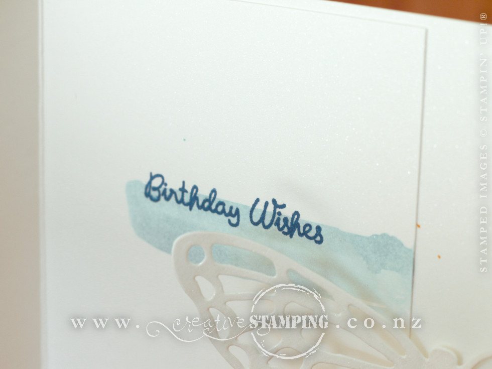 Abstract Impressions Birthday Pop-Out Butterfly Card