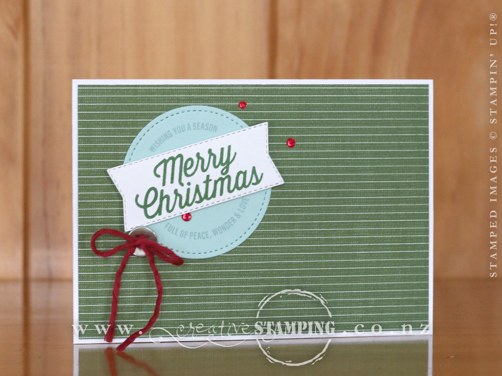 Farmhouse Christmas Pop-Out Card