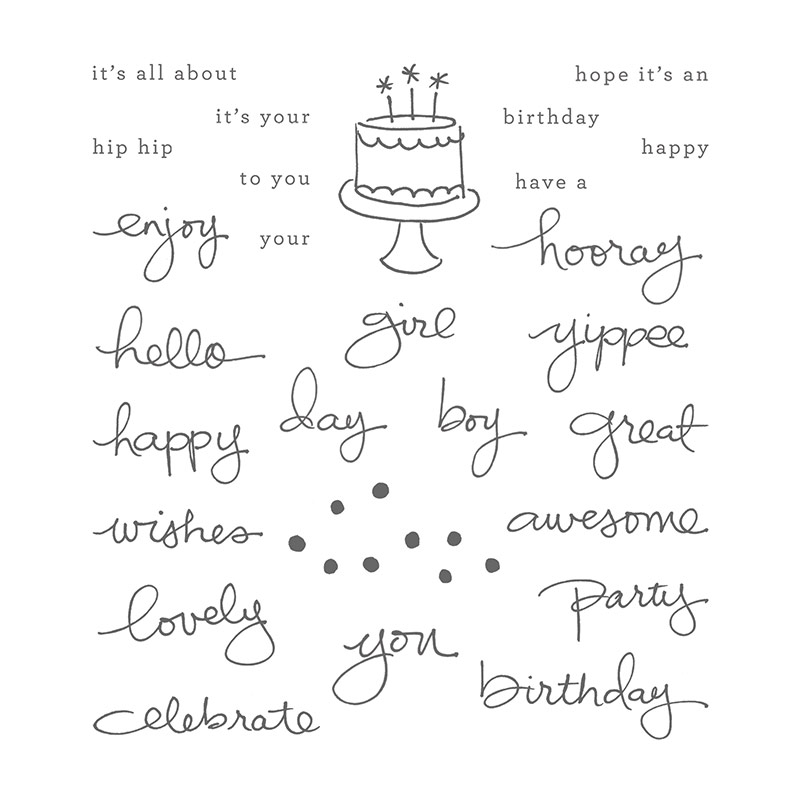 Endless Birthday Wishes Stamp Set