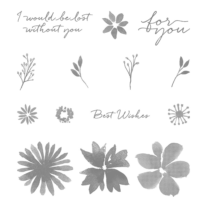 Blooms & Wishes Photopolymer Stamp Set