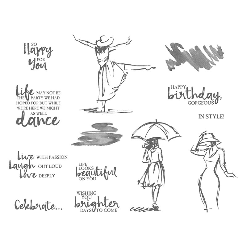Beautiful You Stamp Set